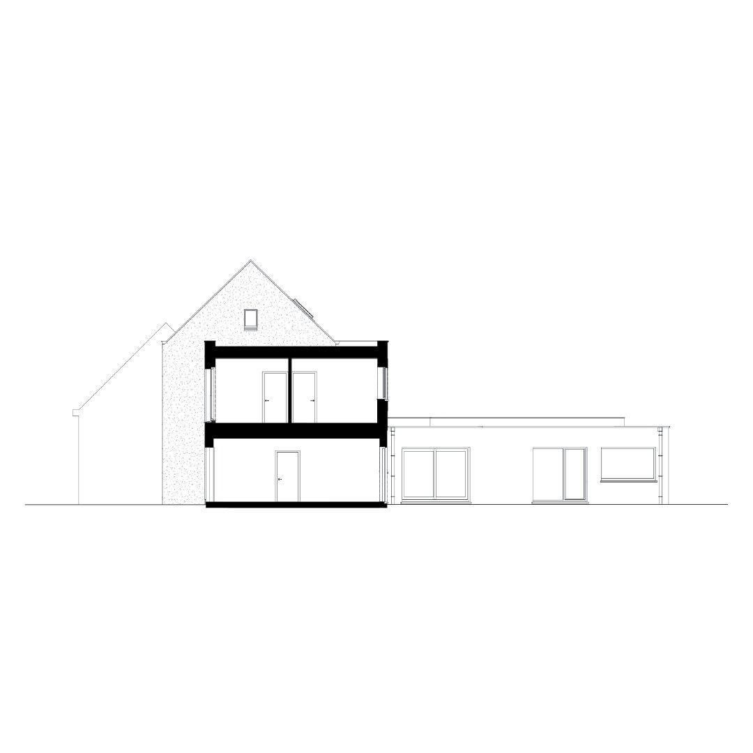 Woning VAB, optopping en renovatie, Lebbeke-1322130603