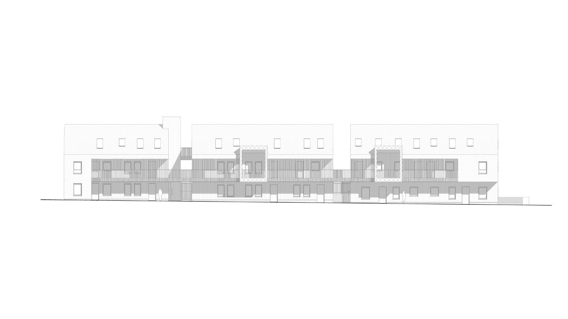 Trojka, collectieve woningen, Scherpenheuvel-Zichem-1039606639