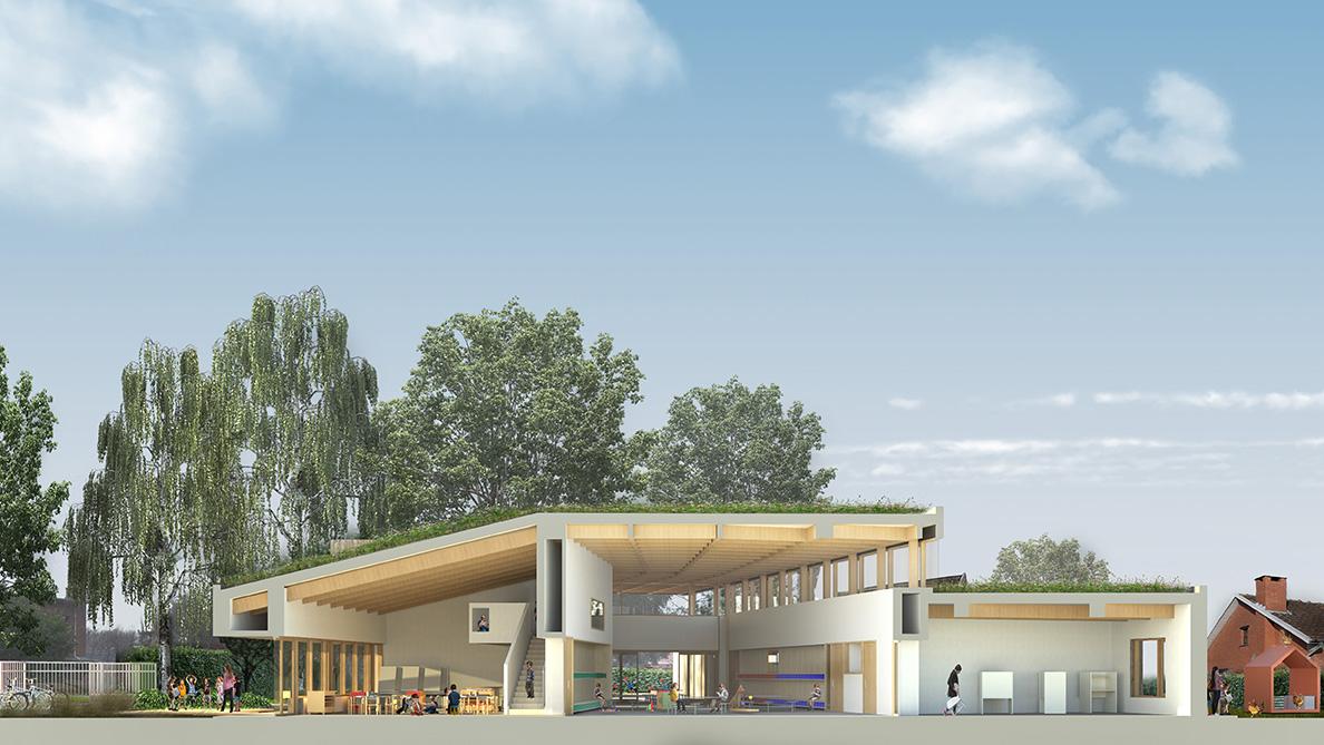 Beurstedelei, kleuterschool, Aartselaar-1544425481