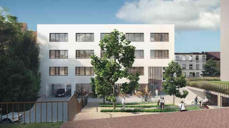 Rauter, parking, Anderlecht
