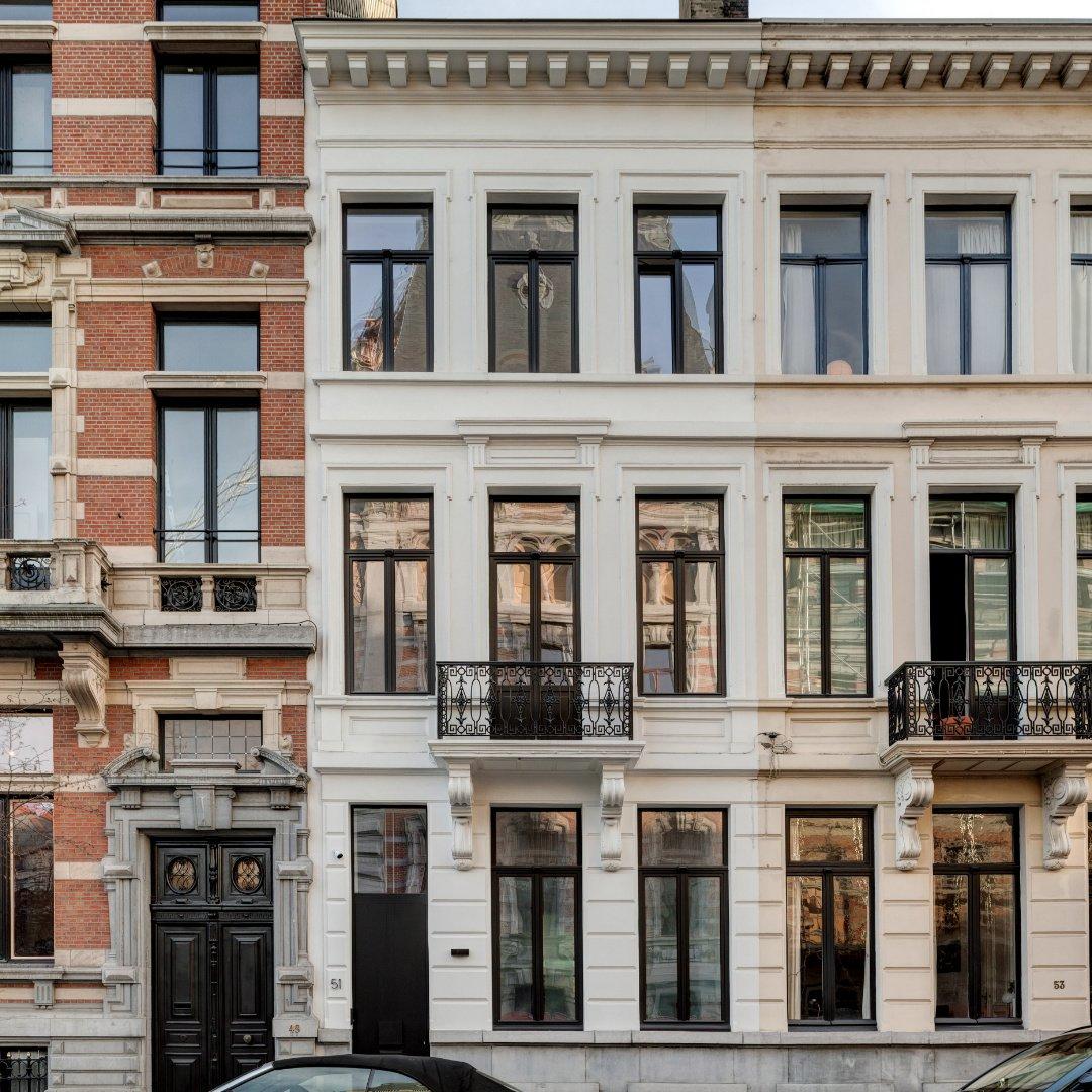 Woning DKE, restauratie en renovatie, Antwerpen