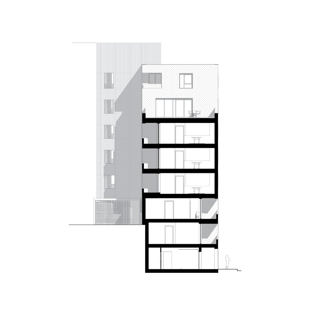 Menslievendheid, collectieve woningen, Brussel-1689339132