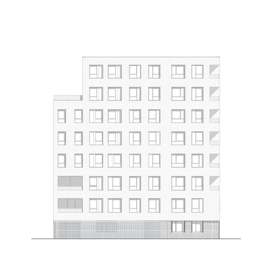 Menslievendheid, collectieve woningen, Brussel-20744345