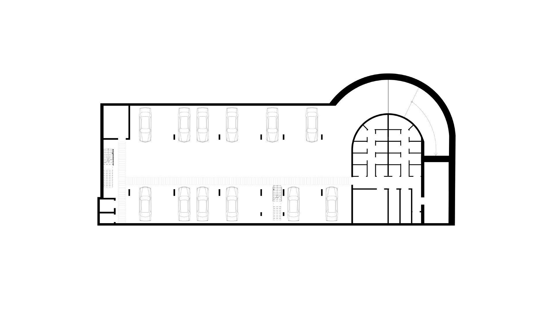 Trojka, parkeergarage, Scherpenheuvel-Zichem-139065034