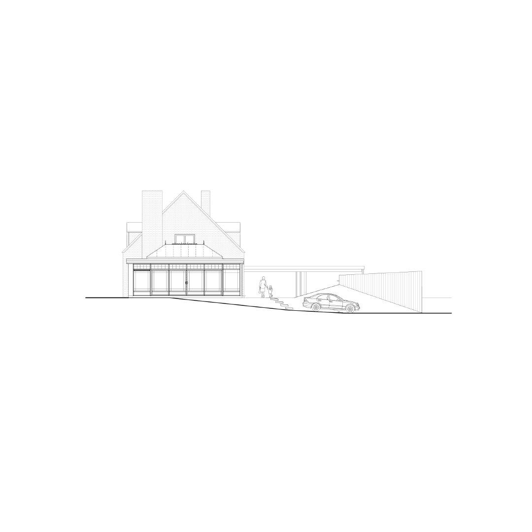 Woning SAK, uitbreiding en renovatie, Genk-1083919744