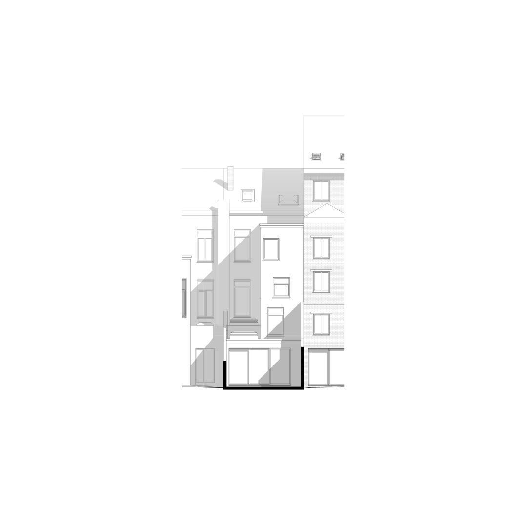 Woning DKE, restauratie en renovatie, Antwerpen-2090357249