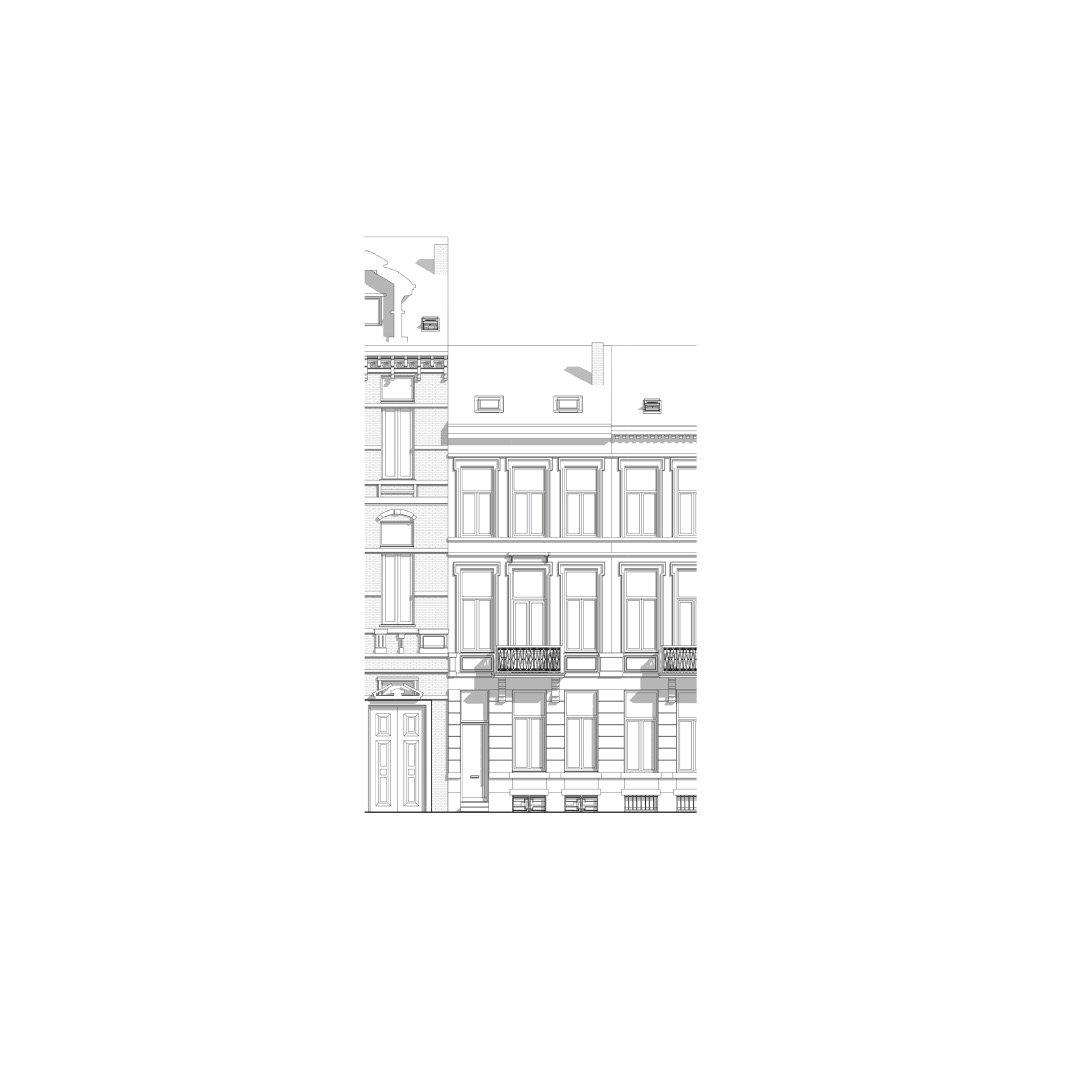 Woning DKE, restauratie en renovatie, Antwerpen-922000178