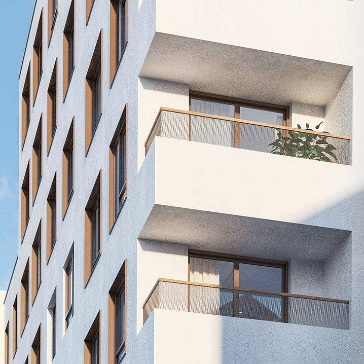 Menslievendheid, collectieve woningen, Brussel-1058788641