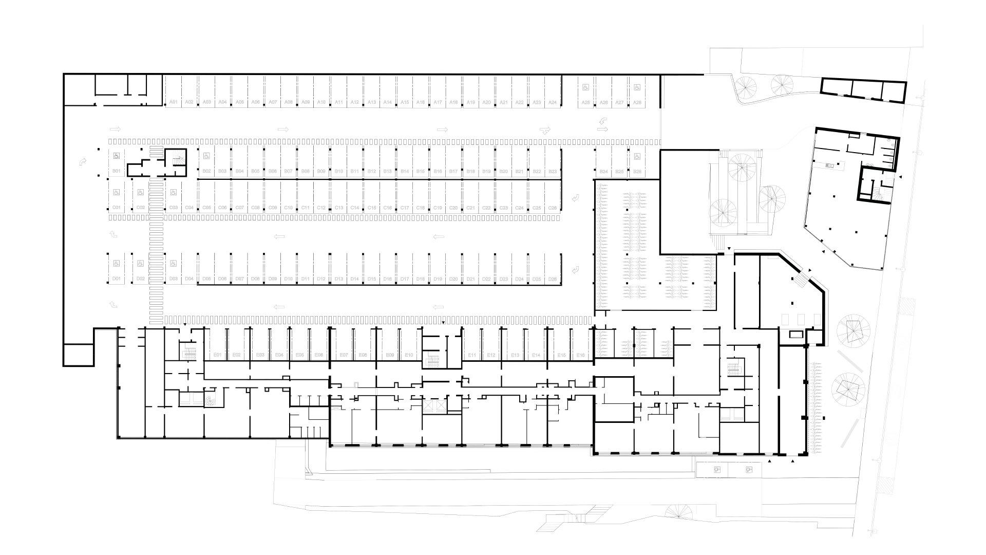 Rauter, collectieve woningen, Anderlecht-1293457034