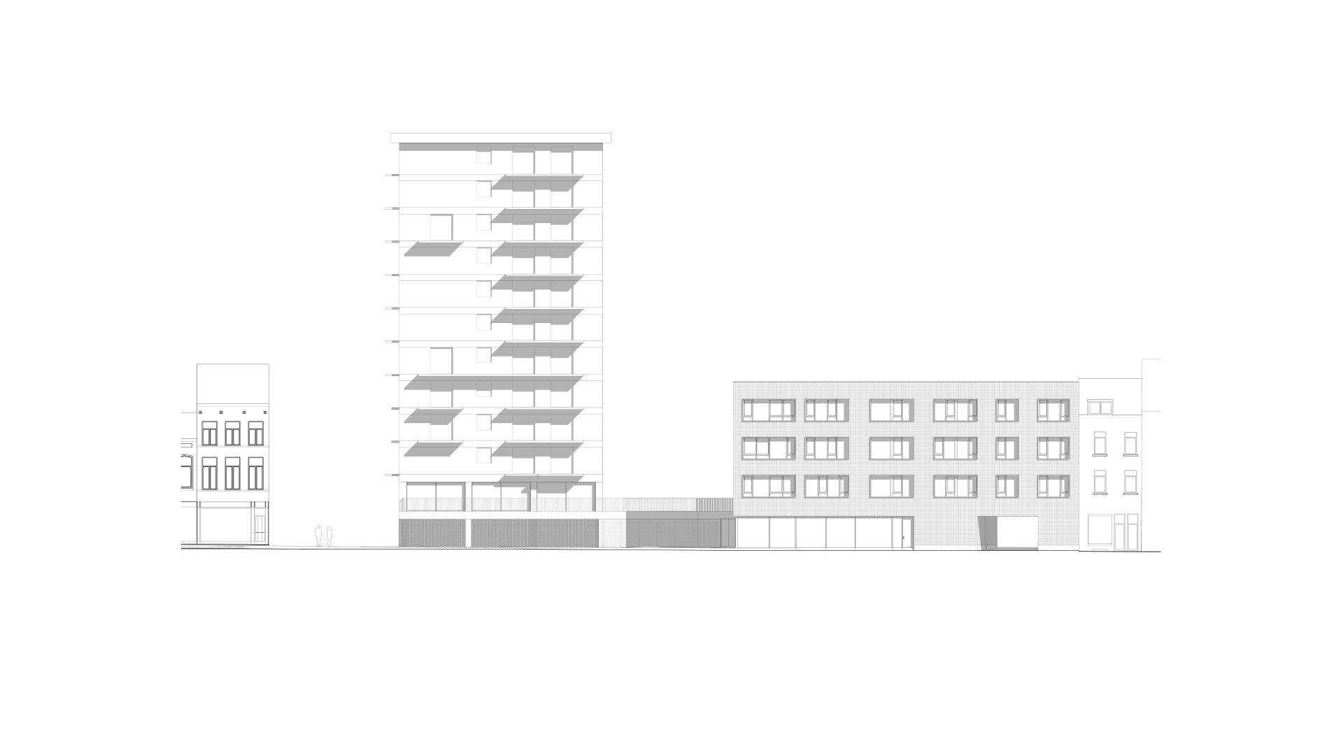 Rauter, collectieve woningen, Anderlecht-491686170