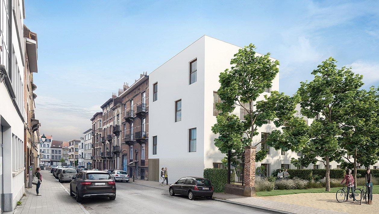 Rauter, collectieve woningen, Anderlecht-2094476716