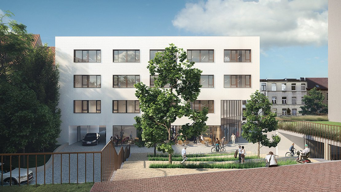 Rauter, collectieve woningen, Anderlecht-1238676835