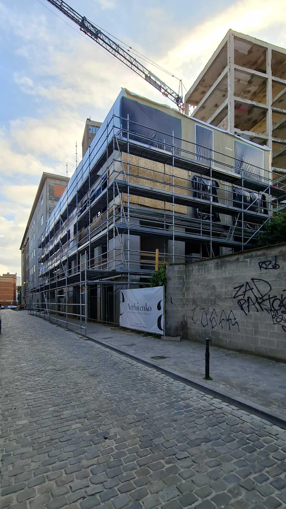 Menslievendheid, collectieve woningen, Brussel-98554628